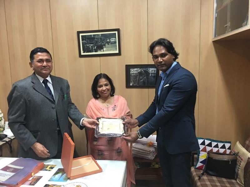 Visit at Maharashtra State Human Rights Commission in Mumbai