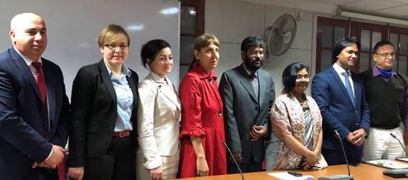 European Delegates to Patna, Bihar, India