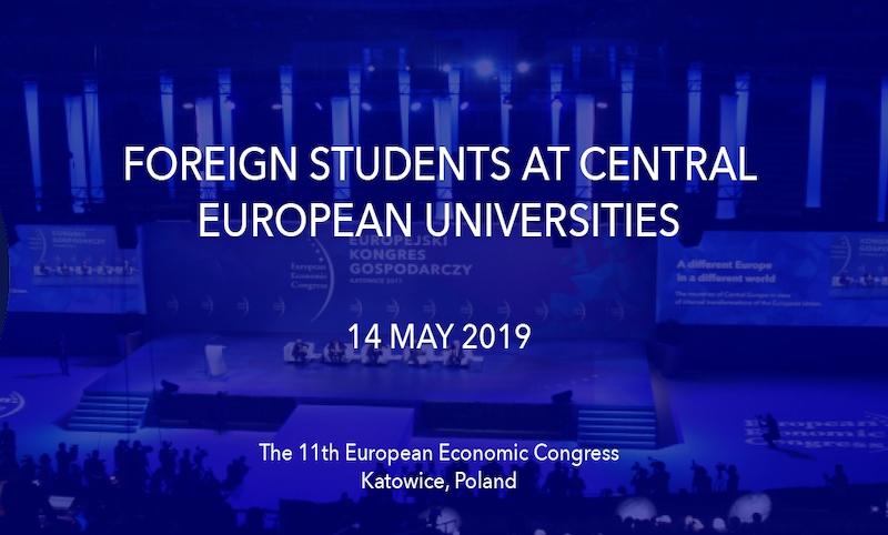 The 11th European Economic Congress, May 13-15, 2019, Katowice, Poland