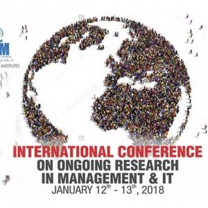 India Calling.....INCON-XIII 2018, January 12-13, 2018