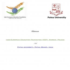 MoU with Patna University, Patna, Bihar on 5th March 2019