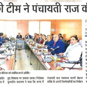 International Workshop on Panchayati Raj (Rural Local Governance), 6th March 2019 at CNLU Patna