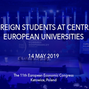 The 11th European Economic Congress, May 13-15, 2019, Katowice, Poland