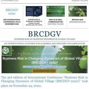 PRESS RELEASE: Successful Conduct of BRCDGV-2020