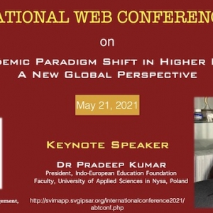 Post Pandemic Paradigm Shift in Higher Education: A New Global Perspective, May 21, 2021